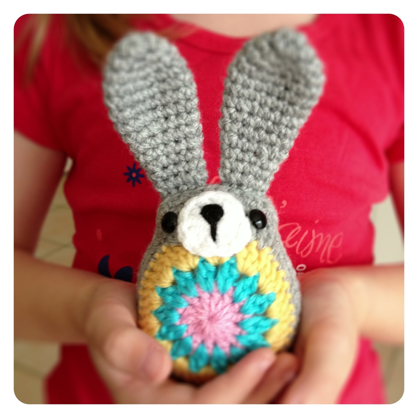 Sheree forcier blog crochet easter bunny if youd like to make one to you can find the free tutorial here it was really easy to follow just crochet all the bits you need sew them all together ccuart Choice Image
