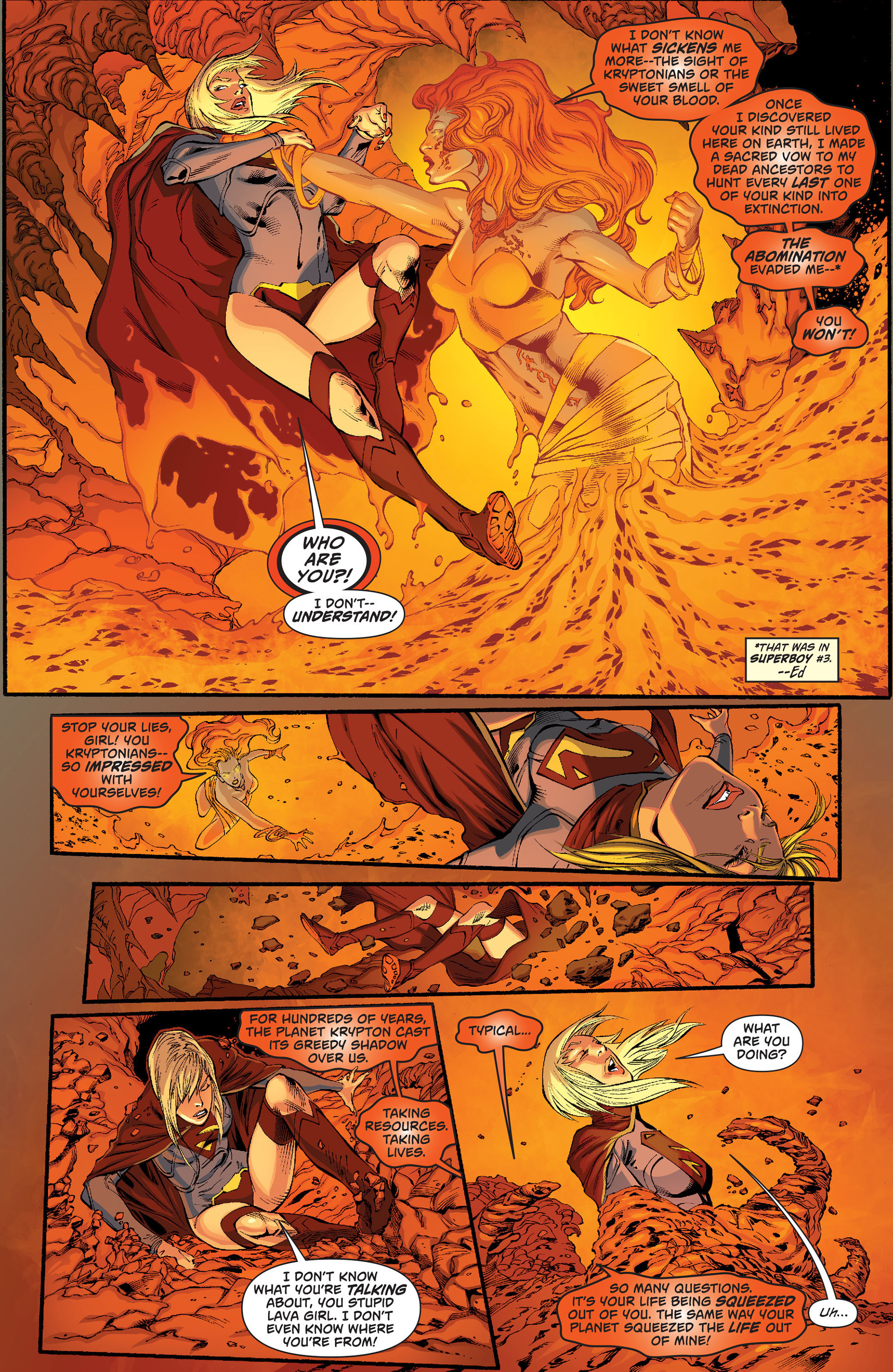 Supergirl (2011) Issue #18 #20 - English 13