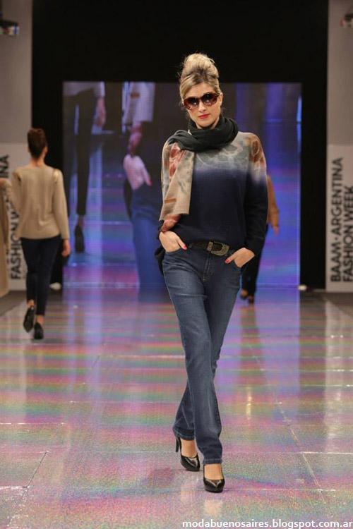 Adriana Costantini otoño invierno 2014 sweaters de moda.
