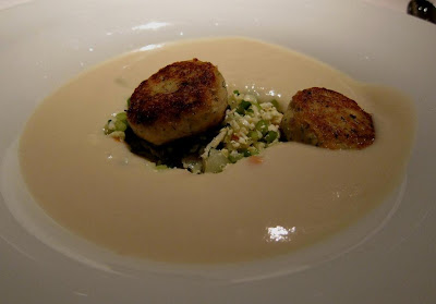 Cauliflower Soup at Parcel 104