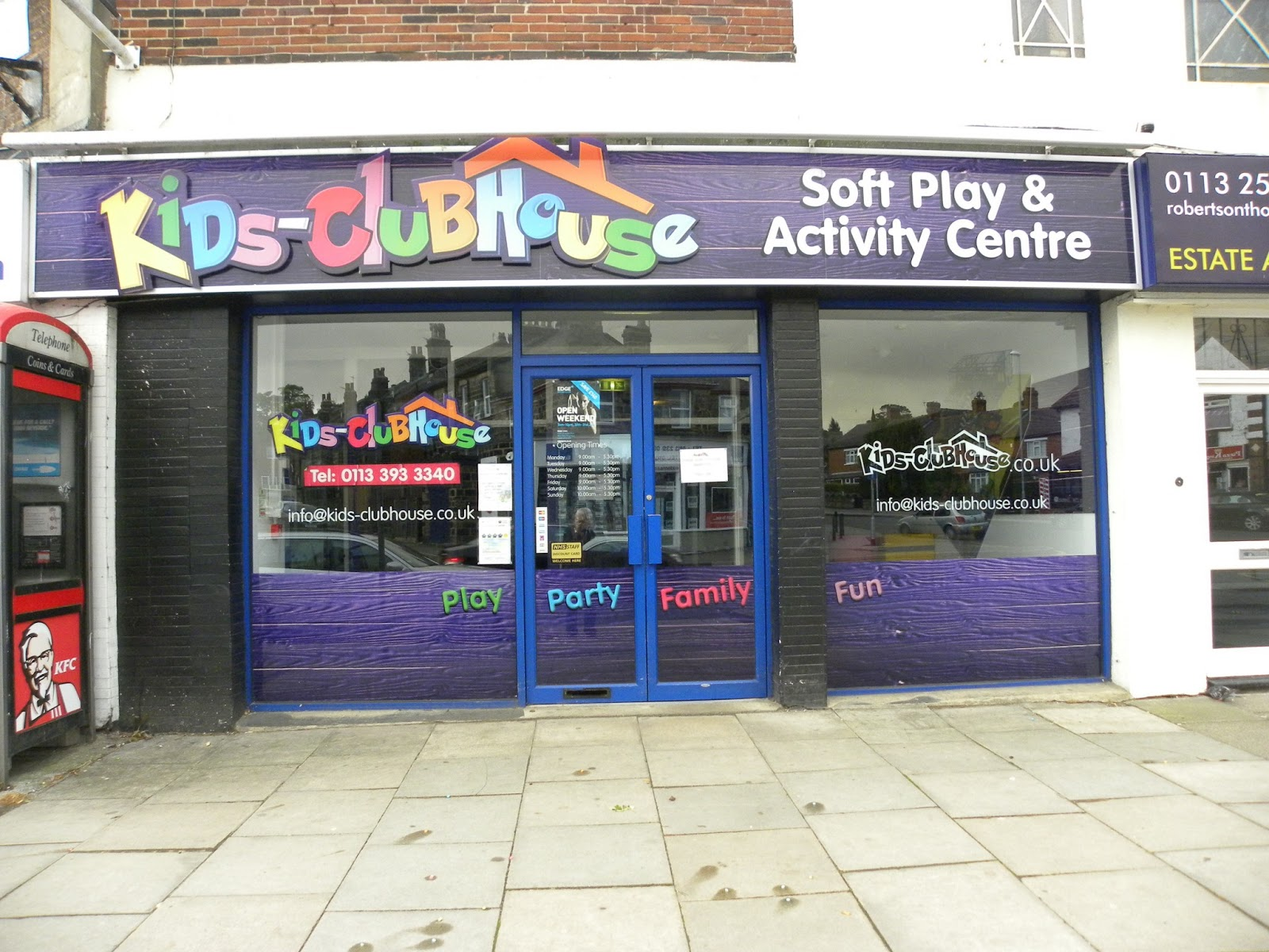 kids clubhouse. For More Information On Ernest Wilson Business Agents, Visit Www.ernest-wilson.co.uk Kids Clubhouse