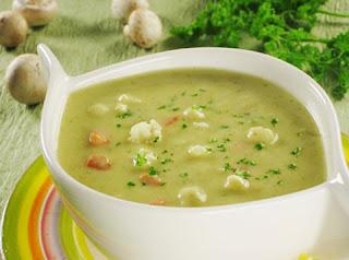 Суп - пюре из овощей