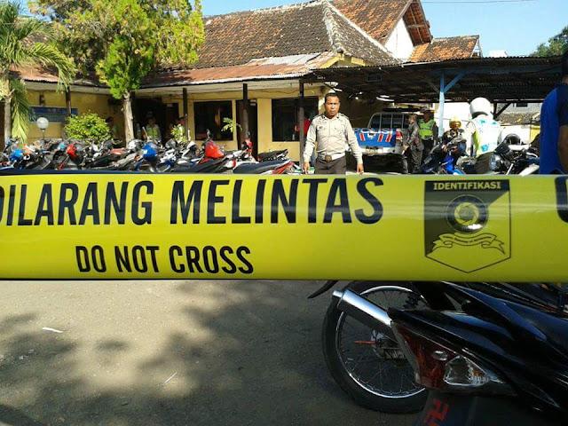 Puluhan Brimob Mengamuk di Mapolres Bima Kota