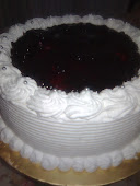 blueberry cream cake