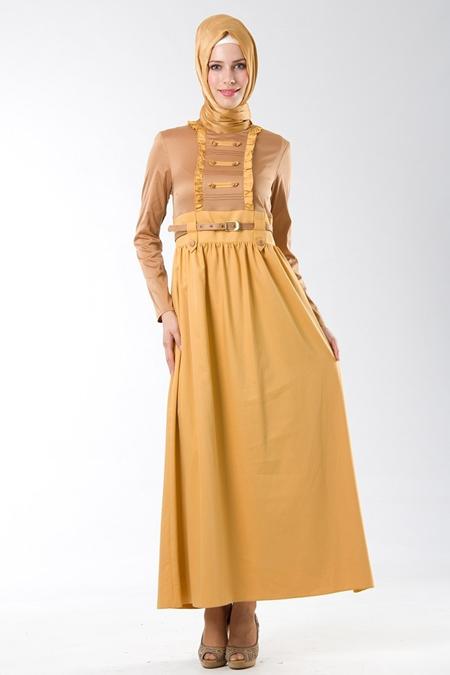 İpekdal tesettür elbise modelleri