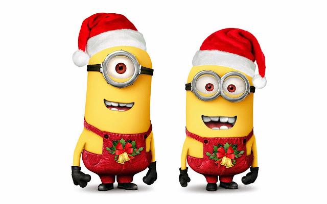 Minions especial navidad para imprimir gratis ideas y material