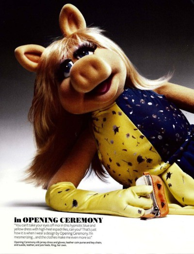 eulogy to piggy Miss piggy turned me gay when jim henson and frank oz created them for sesame street they were intended as a tribute to the grand tradition of mix.