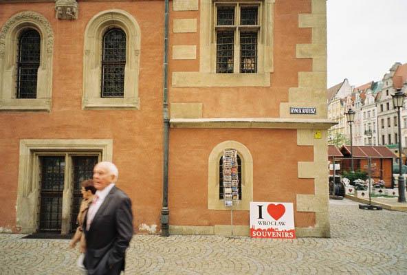 Market Square Wroclaw I heart