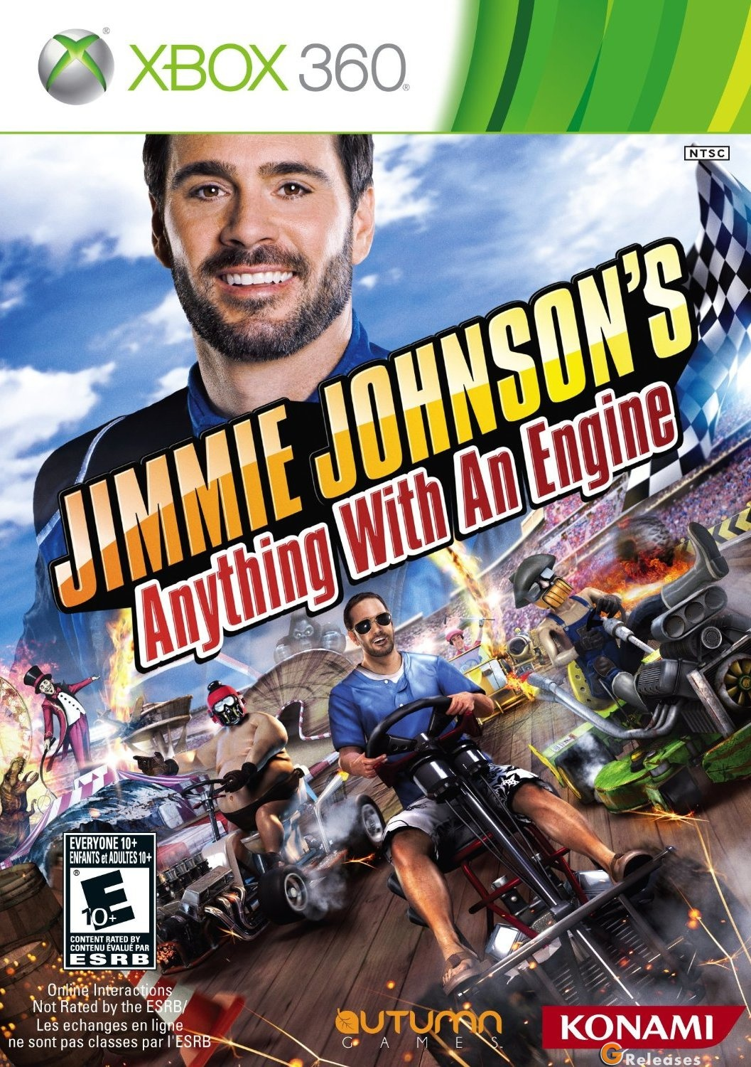Jimmie johnson 39 s anything with an engine xbox360 for Anything with a motor