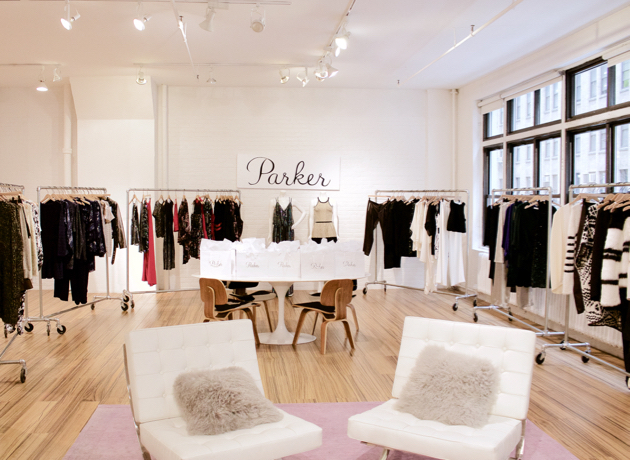 Parker NYC showroom
