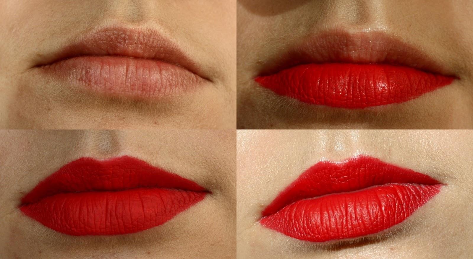 Как сделать губы матовые 942