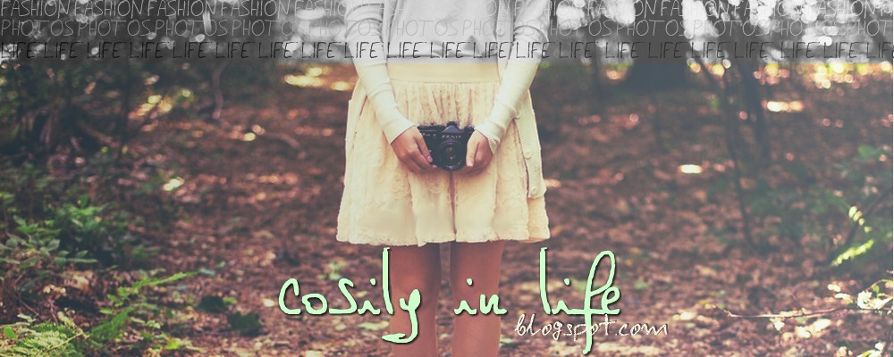 Cosily in life. ♥