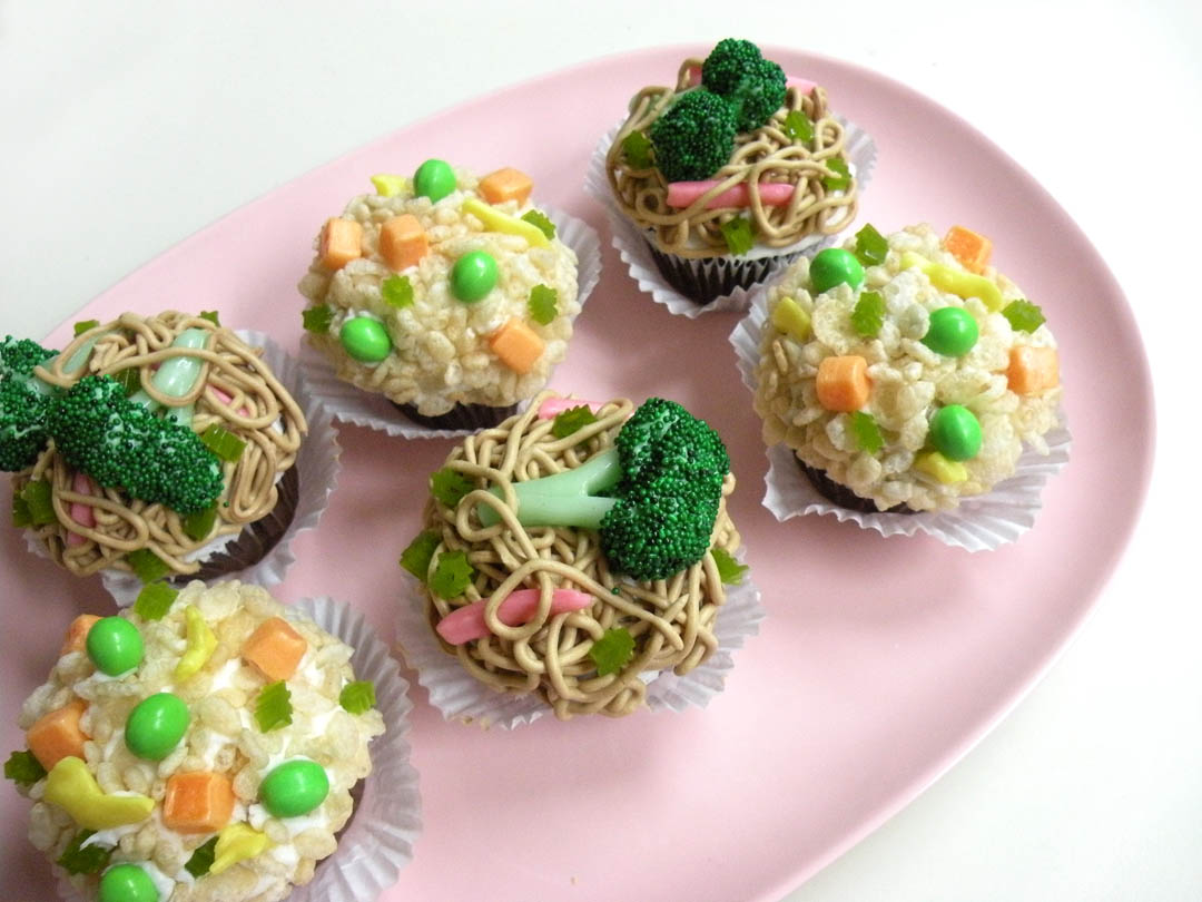 Chinese Takeout Cupcakes Recipes — Dishmaps