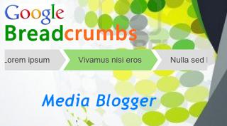 Cara Membuat Breadcrumb Terindex Google di Blogspot