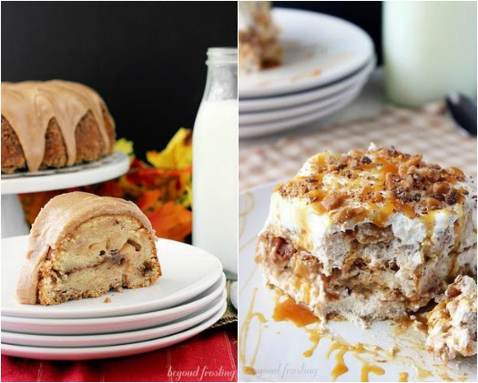 Apple Pie Coffee Cake & Apple Pie Lasagna