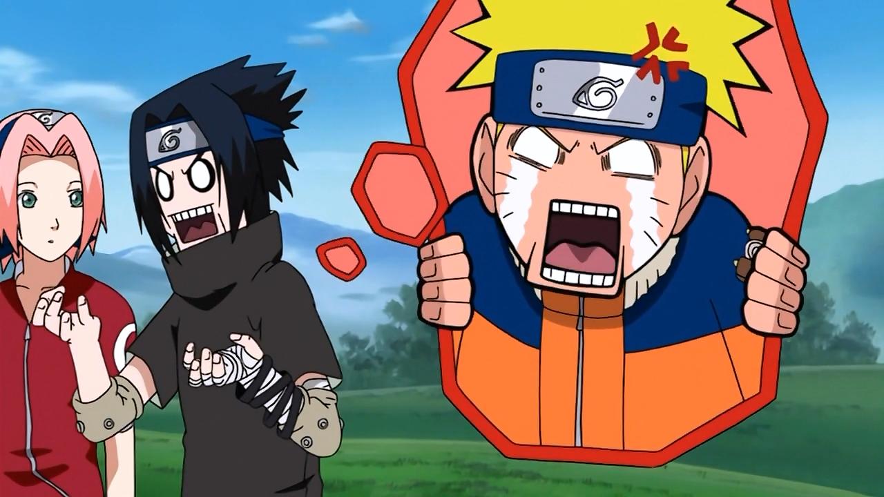 Naruto shippuden en movimiento