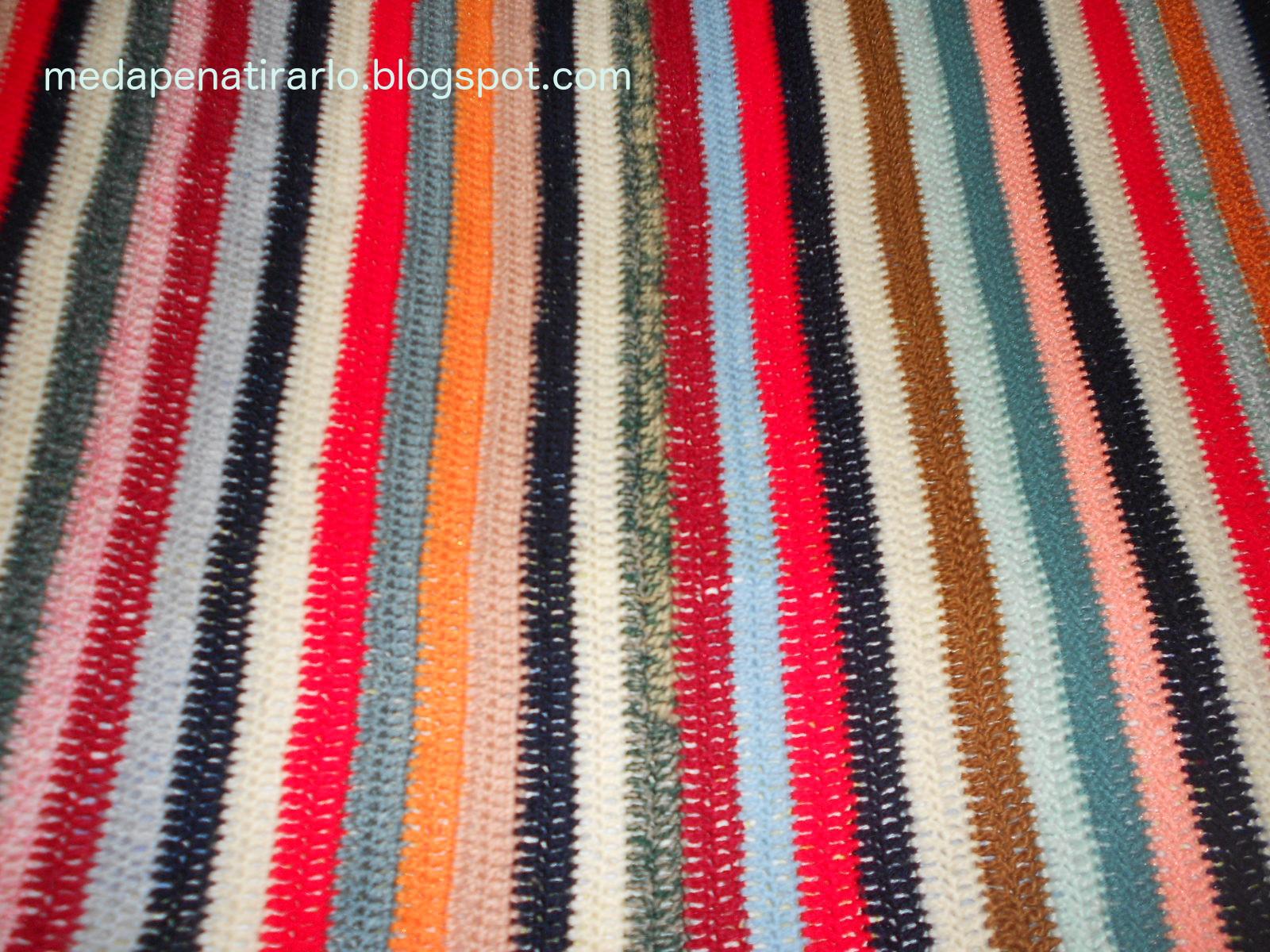 ME DA PENA TIRARLO: Colchas de ganchillo con restos de lana
