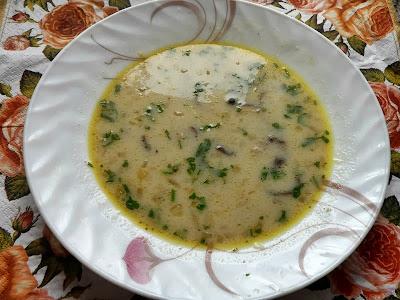 Zupa z kani.