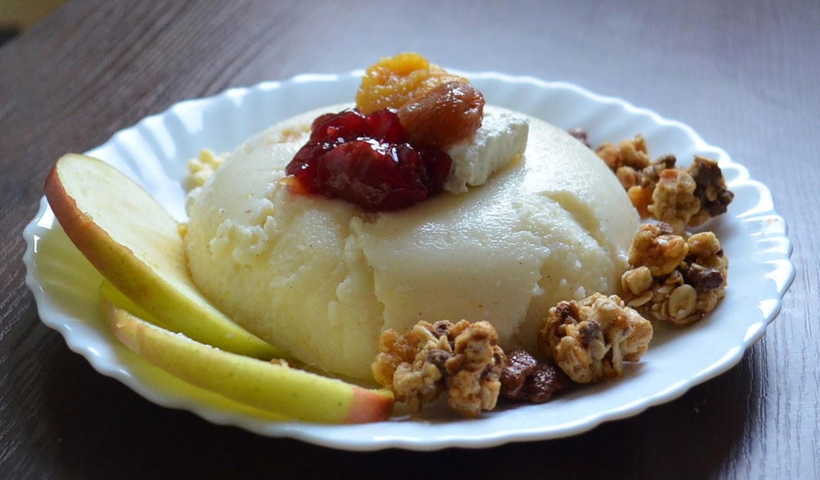 pudding z kaszy manny