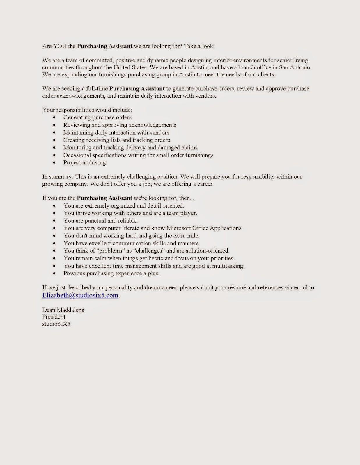 Interior Design Blog Job Openings in Austin Texas