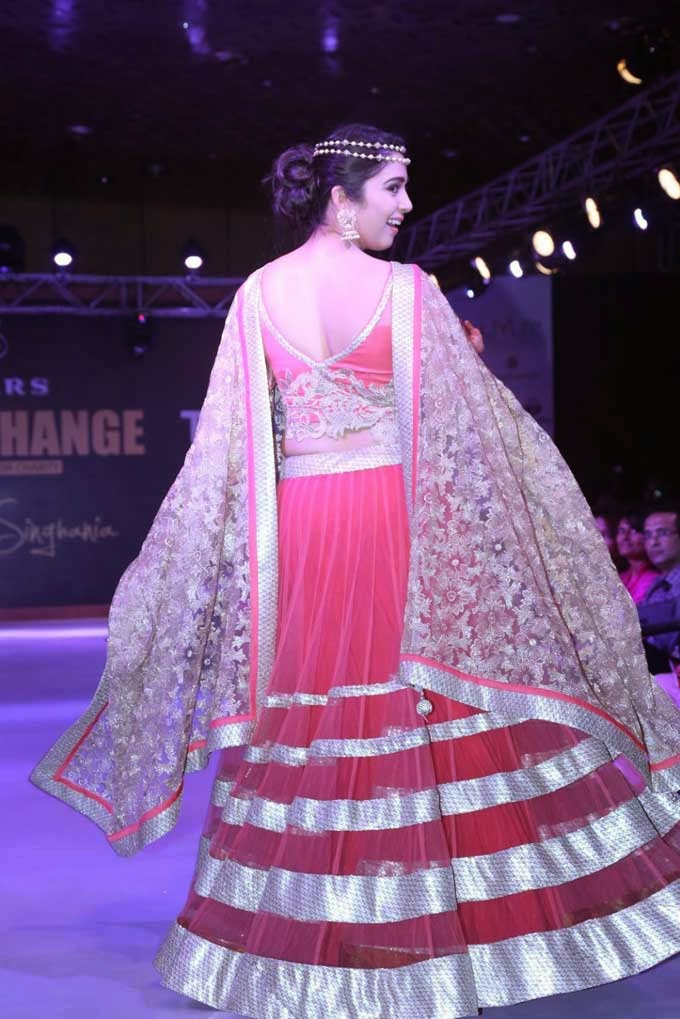 Charmi at Teach For Change Fashion Show