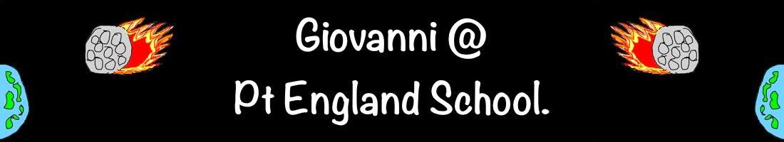 Giovanni @ Pt England School