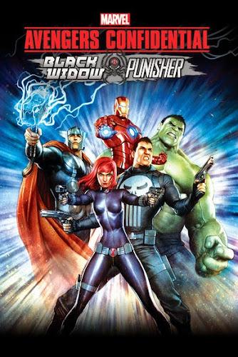 Marvel's Avengers Confidential: Black Widow & Punisher (BRRip HD Español Latino) (2014)