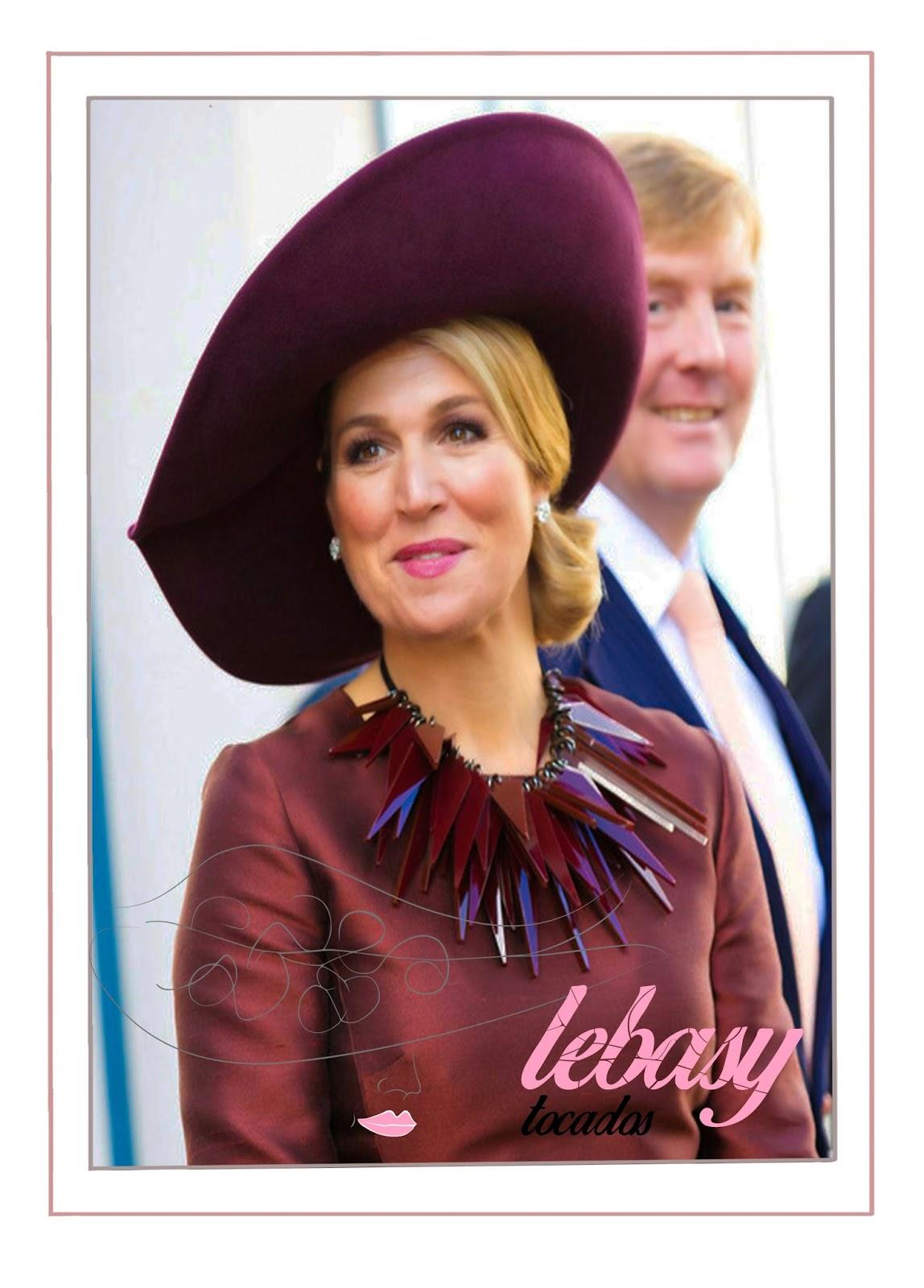 Pamela Maxima de Holanda en la recepcion de los Reyes de Espana