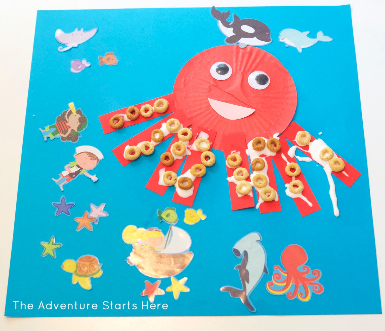 the adventure starts here under the sea crafts part 2