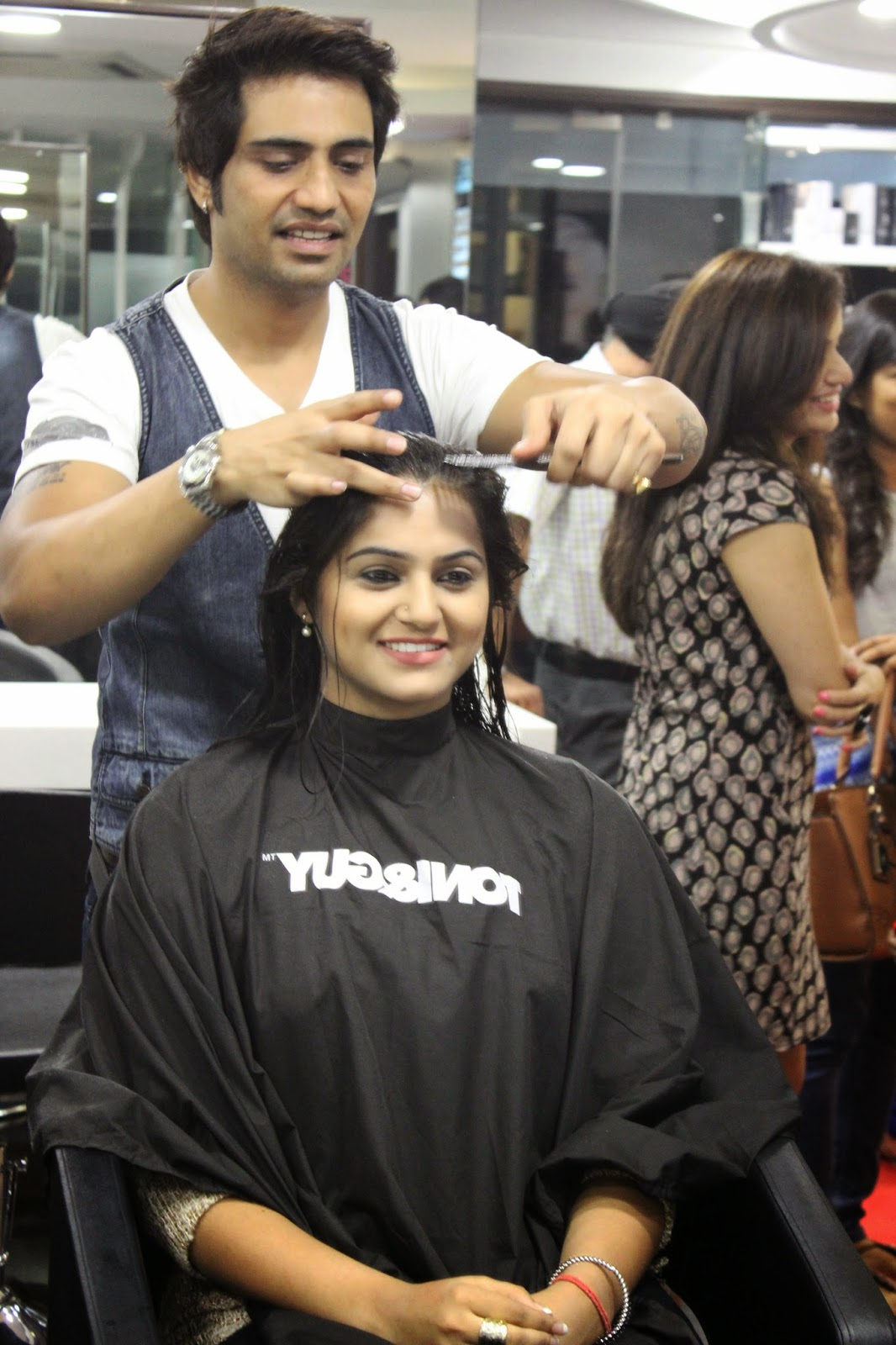 Guilty bytes indian fashion blogger delhi style blog for Salon tony and guy