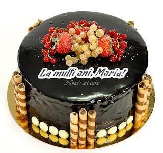 Tort de ciocolata pentru Maria