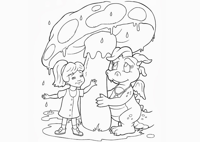 dragontails coloring pages - photo#10