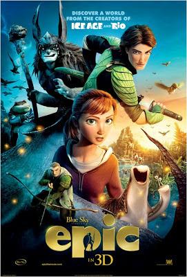 poster epic el reino secreto