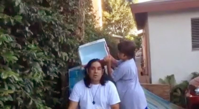 Watch: Ro Sahebi accepts ALS 'Ice Bucket Challenge', nominates Shawn Evidence, Justin Smeja and Rictor Riolo