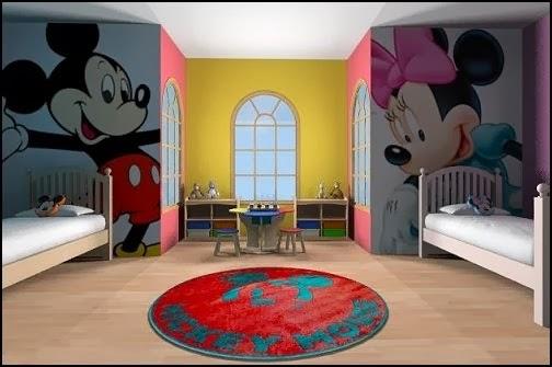 Dormitorios compartidos para ni a y ni o dormitorios - Habitacion nino y nina ...