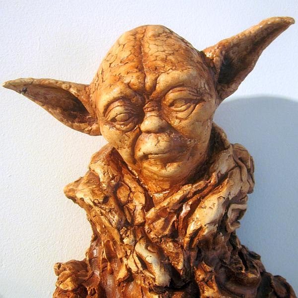 Karen Cope, Yoda, One Gross Face, Torrance Art Museum, Symphony of Mankind