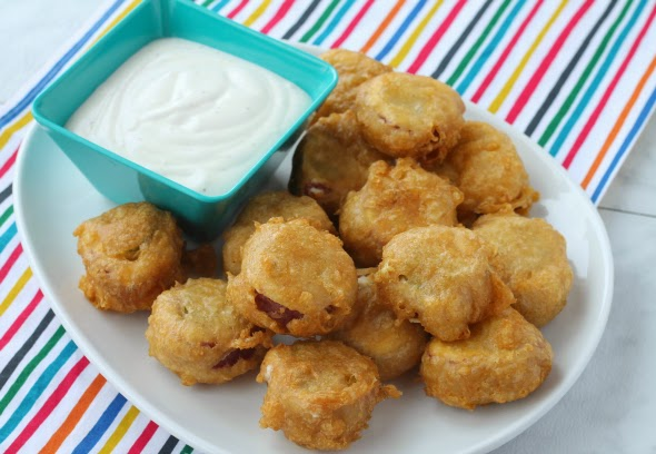 Beer Battered Pickle Wraps - take a standard appetizer up a notch!