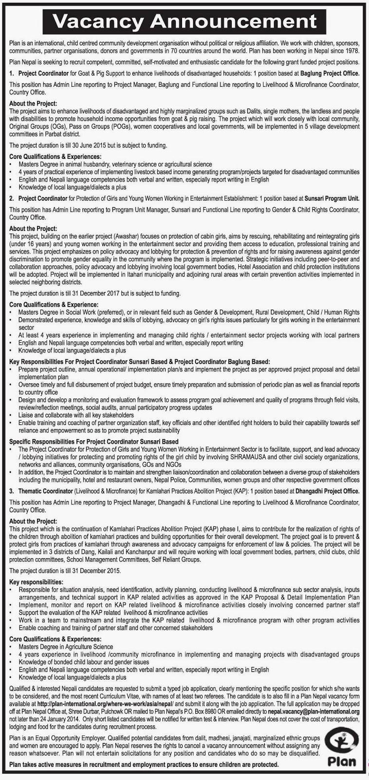 Three-Year Interim Plan (Nepal)