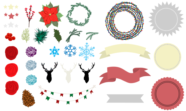 Christmas Banners Clip Art Download