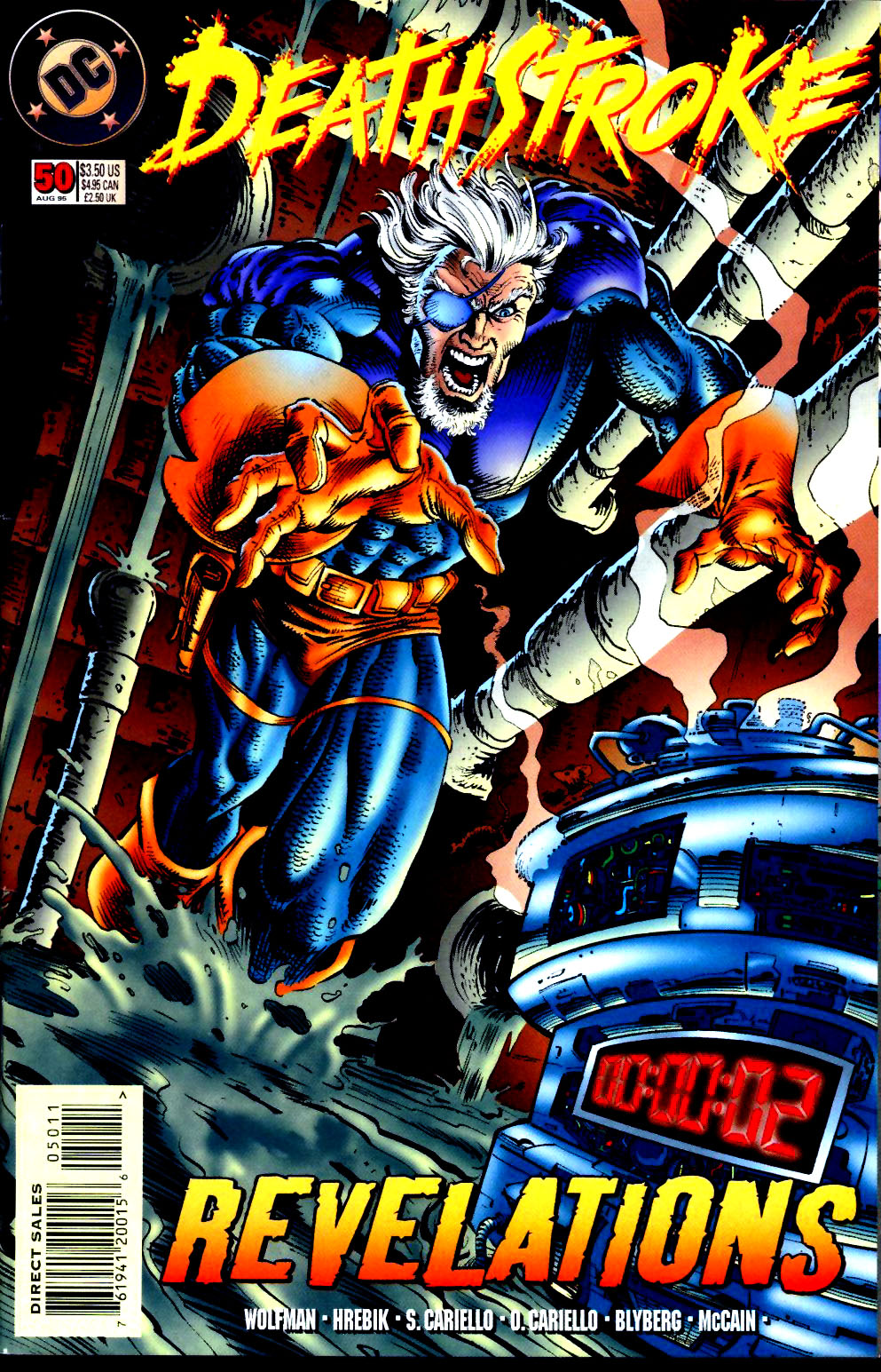 Deathstroke (1991) Issue #50 #55 - English 1