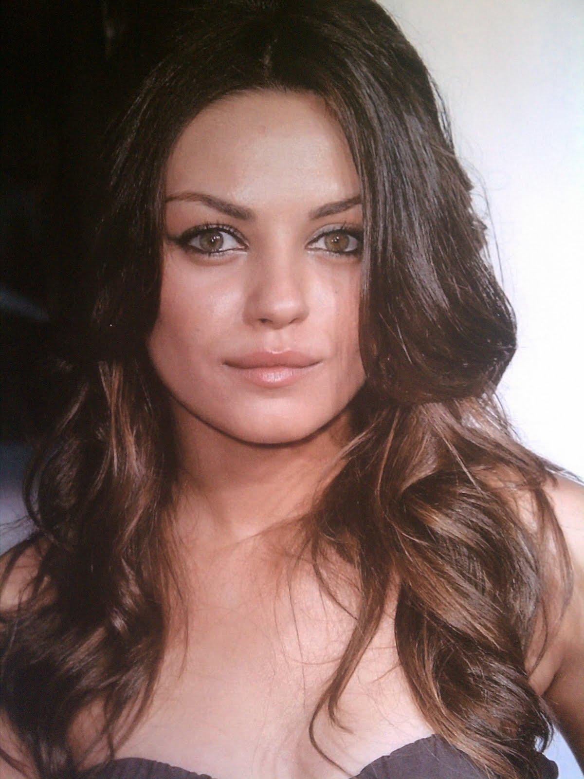 Mila Kunis Gets Cum On Her Face