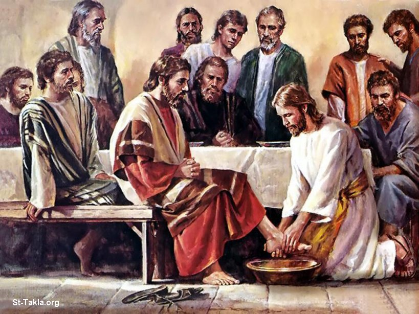 the symbolism of the practice of washing feet in the scriptures of john 13