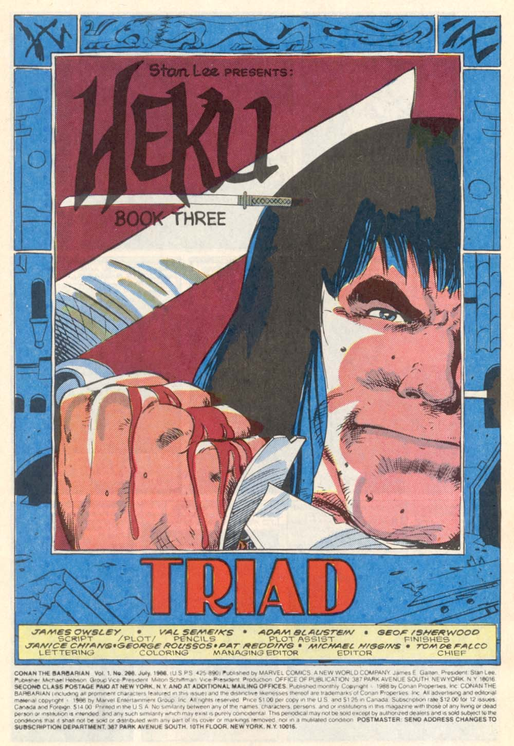 Conan the Barbarian (1970) Issue #208 #220 - English 2