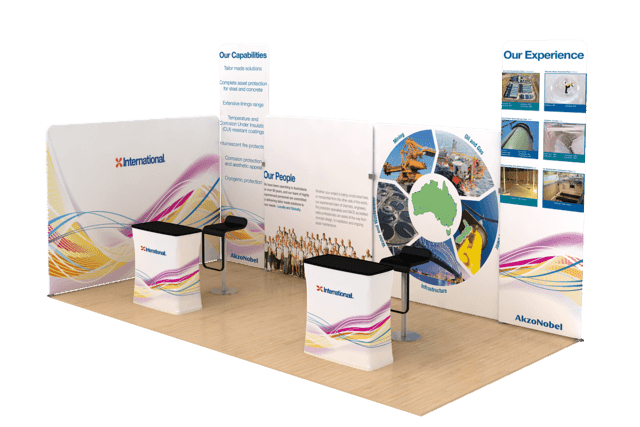 Exhibition Stand Hire You : Trade show stands and pull up banners or exhibition stands