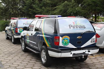 Vtr da GM de Pinhais - PR.