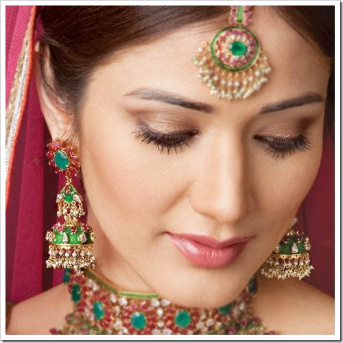 Bride Makeup Images : indian bridal makeup images
