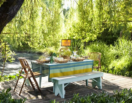 More Industrial And Metal Furniture together with Balcony Furniture Build Yourself Garden Furniture Set as well 520517669407008699 together with Formal Dining Room Ideas furthermore Interior Design Cottage Style Rooms. on brightly painted table and chairs