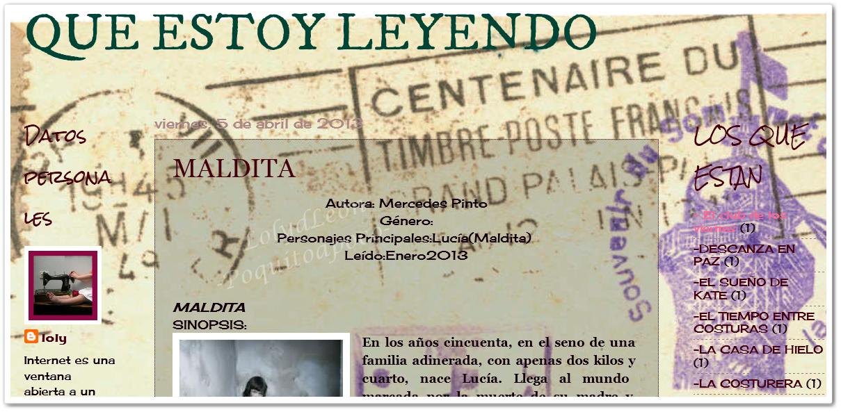 QUE ESTOY LEYENDO