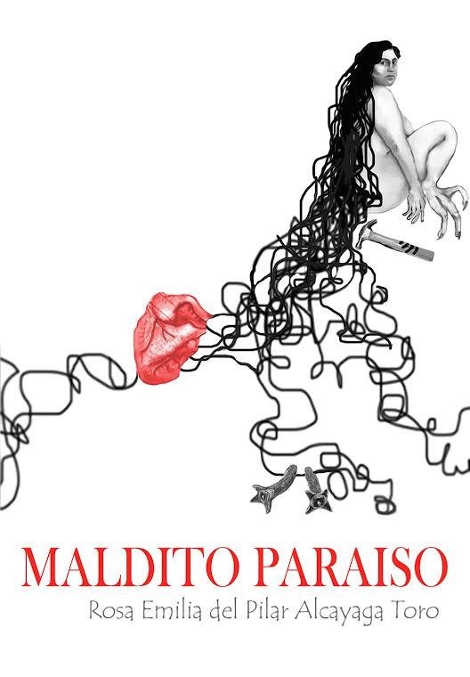 Portada poemario Maldito Paraíso