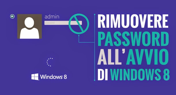 Accesso a Windows 8 e 8.1: come togliere la password